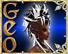 Geo Mohawk blackwhite f