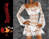 Dawn Crochet Dress WHT