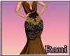 *R* Rolanda Gown - Gold
