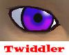 Anime Eyes Purple