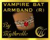 VAMPIRE BAT ARMBAND (R)