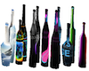 assorted bar bottles