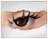 g. brown eyes
