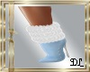DL BOOTS FUR BLUE