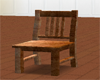 Golden Brown Wood Chair