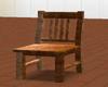 Golden Brown Wood Chair