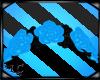 Sky Blue Rose Headdress