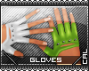 [c] Fusion Gloves Green