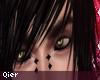 Moonlit eyes.