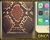 Phone + Snake Print Case