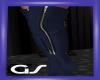GS Navy Blue Boots