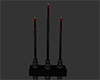 !A Red Gothic Candle Ref