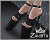 Black Velvet High Heels2