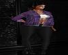 Purple Jacket Fit