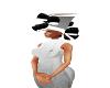 HAT BLACKWHITE MIX GRAY