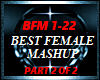 BEST FEMALE MASHUP PRT 2