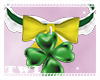 St Patricks Collar + Bow