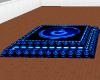 Neon Blue Dance Floor