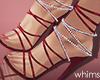Red Diamond Heels