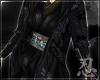 忍 Hana Robe Black