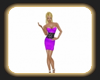 Chelsea purple dress