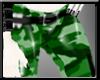 [A] Green Camo Pants F