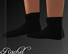 {R}Black Socks