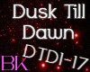 Dusk Till Dawn Cover