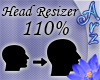 [Arz]110% Head Resizer