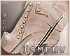 [Is] Casual Creme Boots