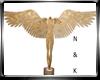 Angel Sculpture Gold