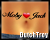 Moby heart Jack tattoo