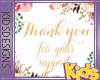 Tiny Support Sticker