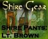 Shire Pants LtBrown