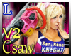Lollypop chainsaw