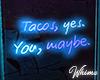 Garage Glow Tacos Neon