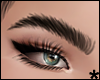 natural brows - black