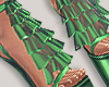 I│Ruffle Add-On Green