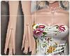 [Is] Floral Suit Peach