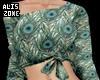 [AZ] Peacock top