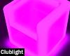 Purple LED Chair