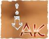 (AK)Arrow belly ring[M]