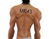 Karla's back tattoo