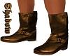 light brown biker boots