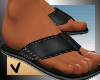 [ves] leather sandals