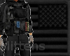 SEAL Black Plate Carrier