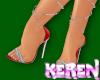 Sexy Santa Heels