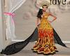 NM Batik modern gown