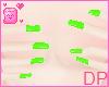 [DP] Long Green Nails