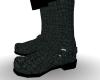 Black Alligator Boots